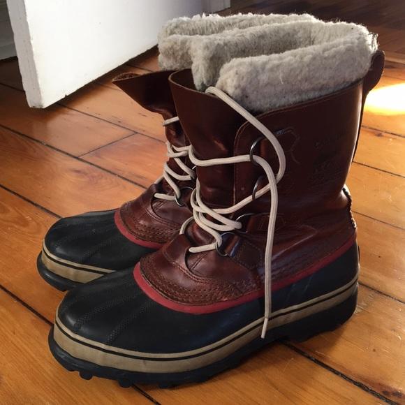 4fa7688e1bb Men s Sorel Caribou Wool Boots. M 5a47e6ce50687cb59b16480f